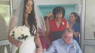 Κύπριος πατέρας σε προχωρημένο στάδιο καρκίνου παντρεύει την κόρη του