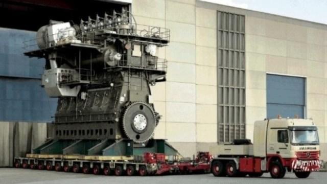 Ο ισχυρότερος κινητήρας diesel του κόσμου έχει 109,000 HP.(Βίντεο)