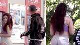 Κοινωνικό πείραμα δείχνει την παρενόχληση που λαμβάνει γυναίκα με μεγάλα οπίσθια