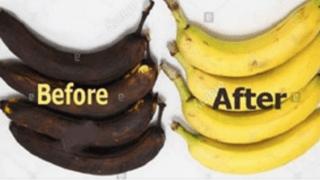 Μην Πετάτε τις Μαυρισμένες Μπανάνες! Μπορείτε να τις Επαναφέρετε!