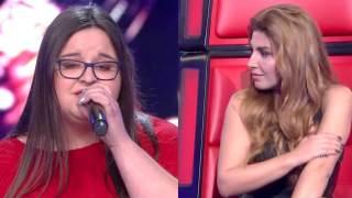 Η 16χρονη Αθανασία έκανε όλους στο Voice να ανατριχιάσουν με την φωνή της