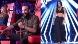 Γύρισε για παίκτρια στο «The Voice» ο Μουζουράκης πριν καν αρχίσει να τραγουδά (Βίντεο)