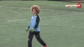 Τερματοφύλακας έβαλε γκολ με βολέ στη Σύρο (Βίντεο)