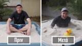 Μηχανικός της NASA μετέτρεψε άμμο σε «υγρό σαπούνι»