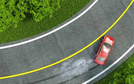 GPS tracker detects hard braking
