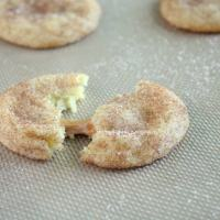 Caramel Stuffed Snickerdoodles