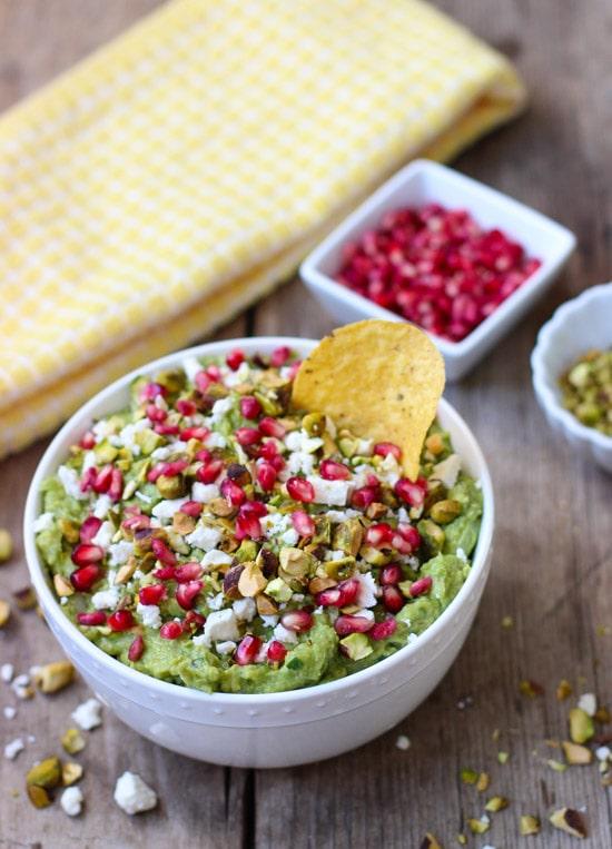 guacamole-with-feta-pistachios-pomegranate-seeds-1