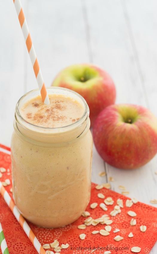 Pumpkin-Apple Breakfast Smoothie