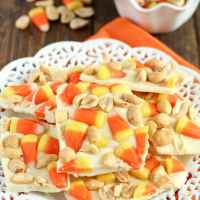 Candy Corn Peanut Bark