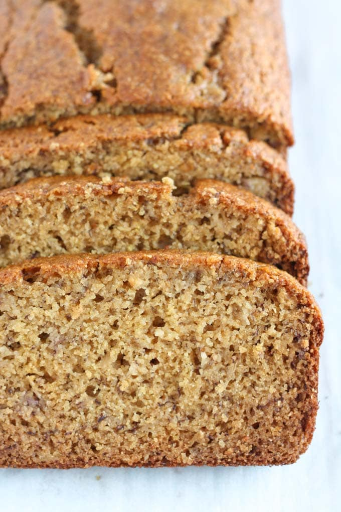 Whole wheat banana bread live well bake often this whole wheat banana bread is lightened up with greek yogurt and less sugar but forumfinder Choice Image