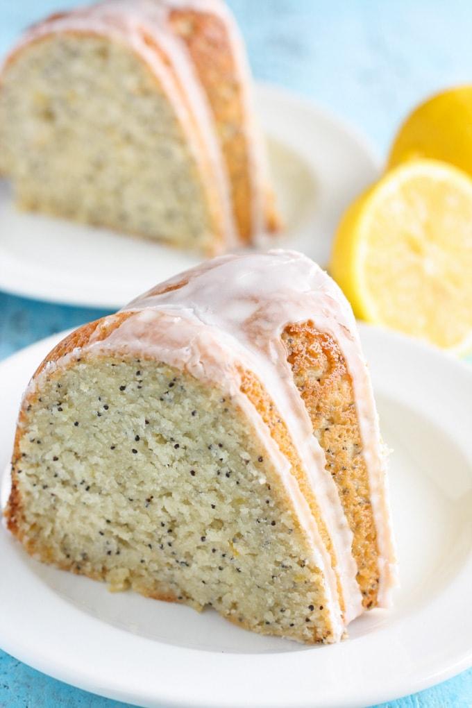 Martha Stewart Lemon Glaze Bundt Cake
