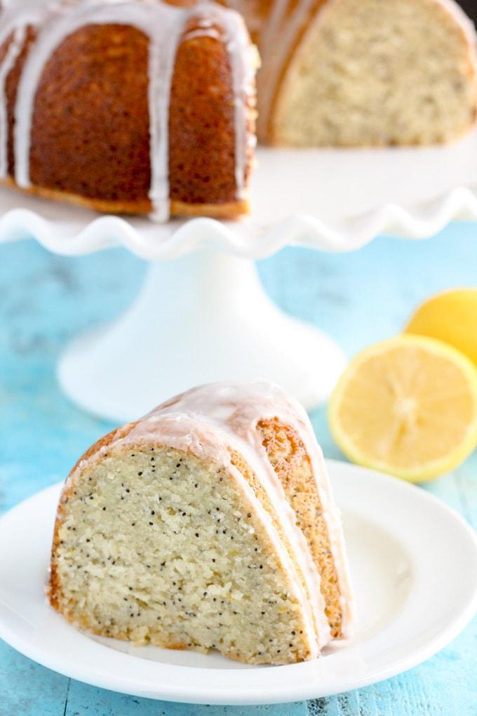 Easy Poppy Seed Bundt Cake