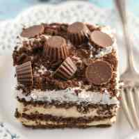 Chocolate Peanut Butter Icebox Cake