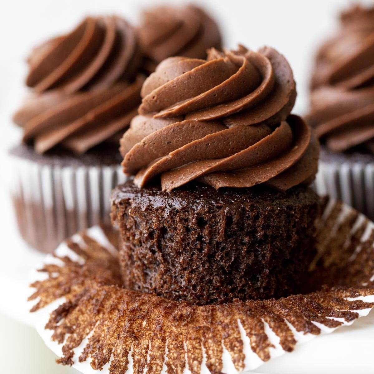 Chocolate Cupcake Recipe Live Well Bake Often