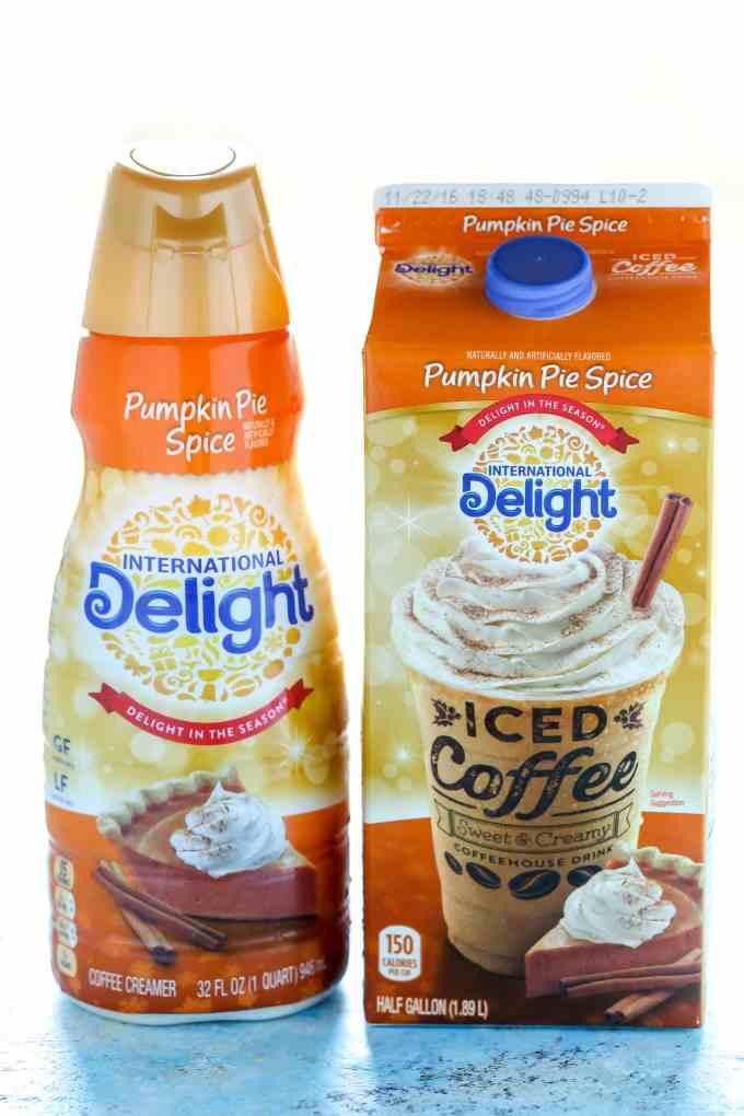 International Delight Pumpkin Spice Creamer and Coffee