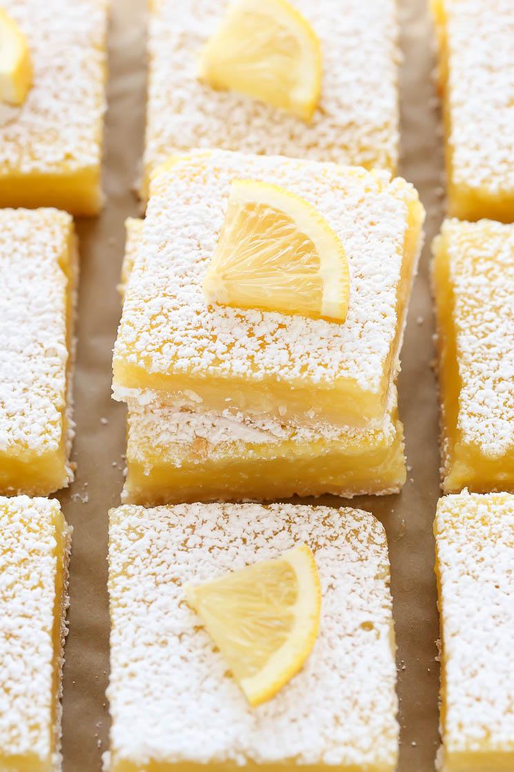 live well bake often classic lemon bars