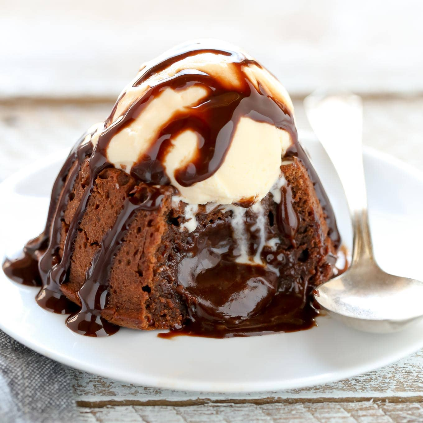 Molten Chocolate Lava Cakes For Two