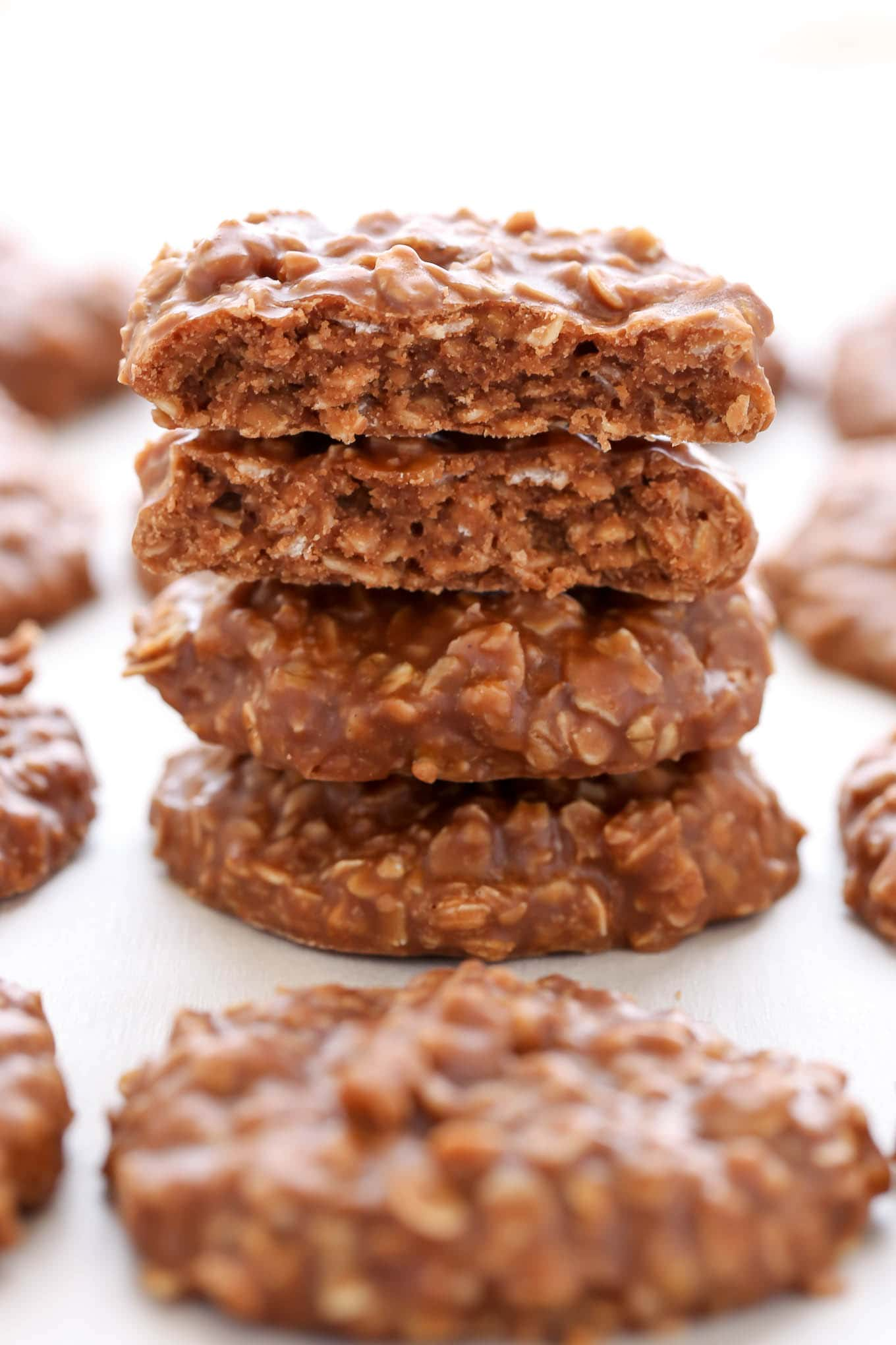 How to make peanut butter no bake cookies without oats