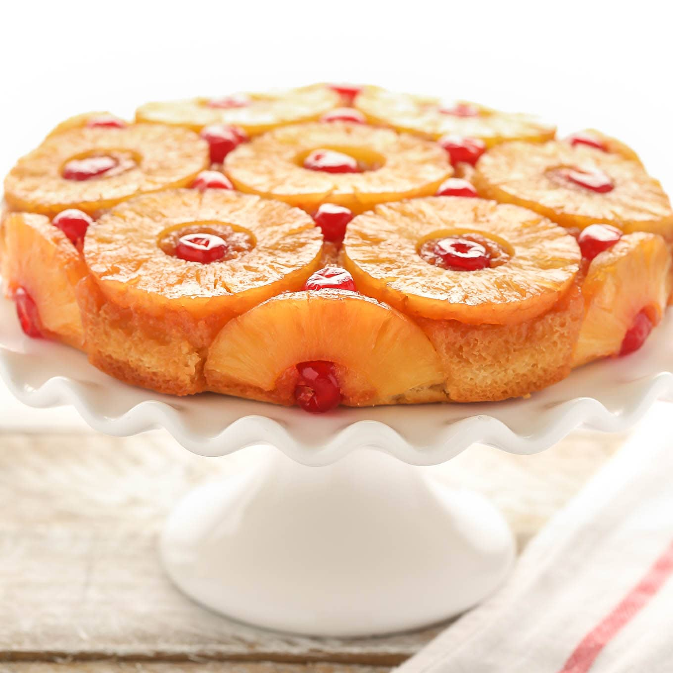 Easy Pineapple Upside Down Cake: Pineapple Upside-Down Cake
