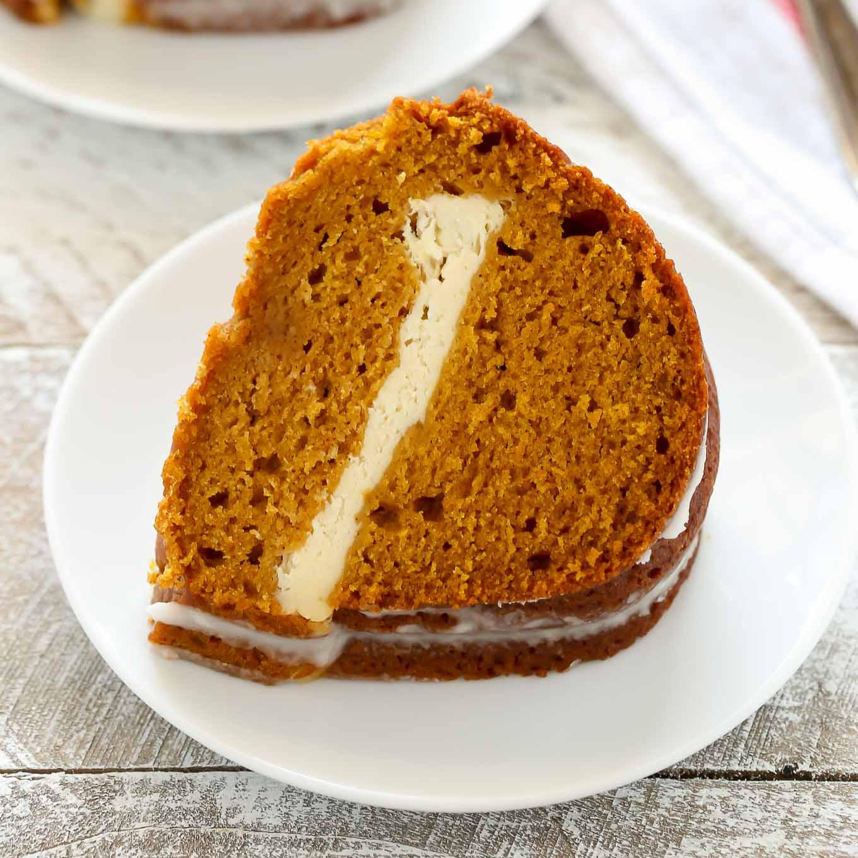 19 Pumpkin Cream Cheese Bundt Cake