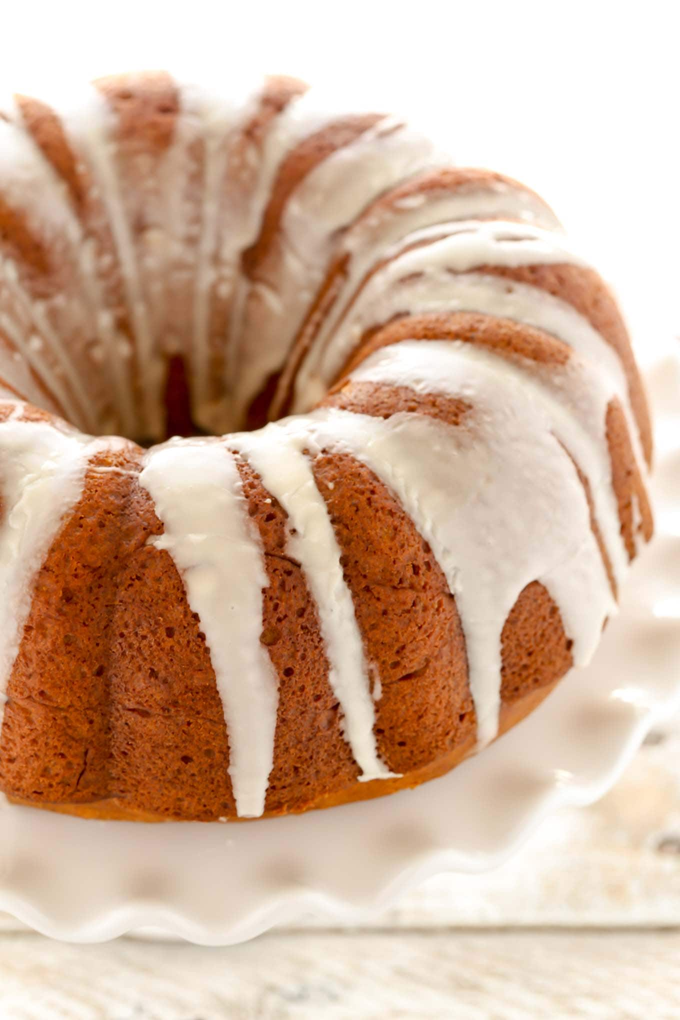 Vanilla Cream Filled Bundt Cake
