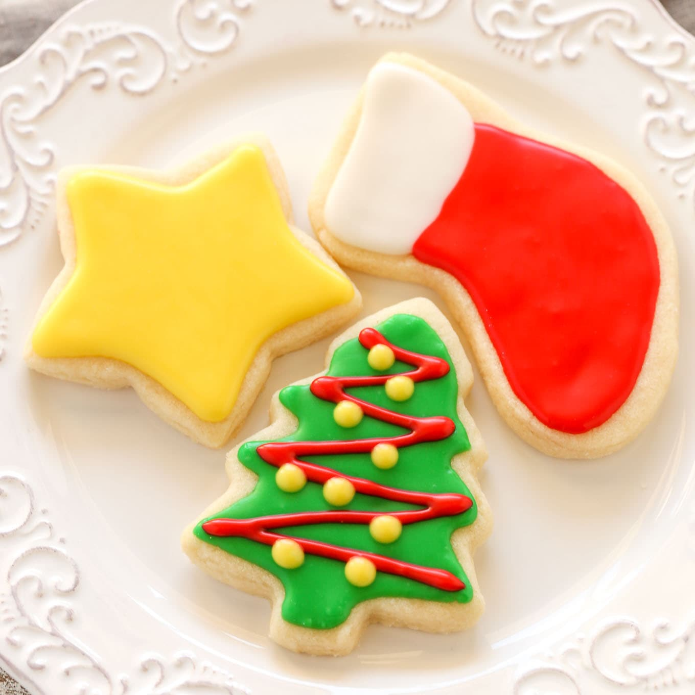 Soft Christmas Cut Out Sugar Cookies Live Well Bake Often