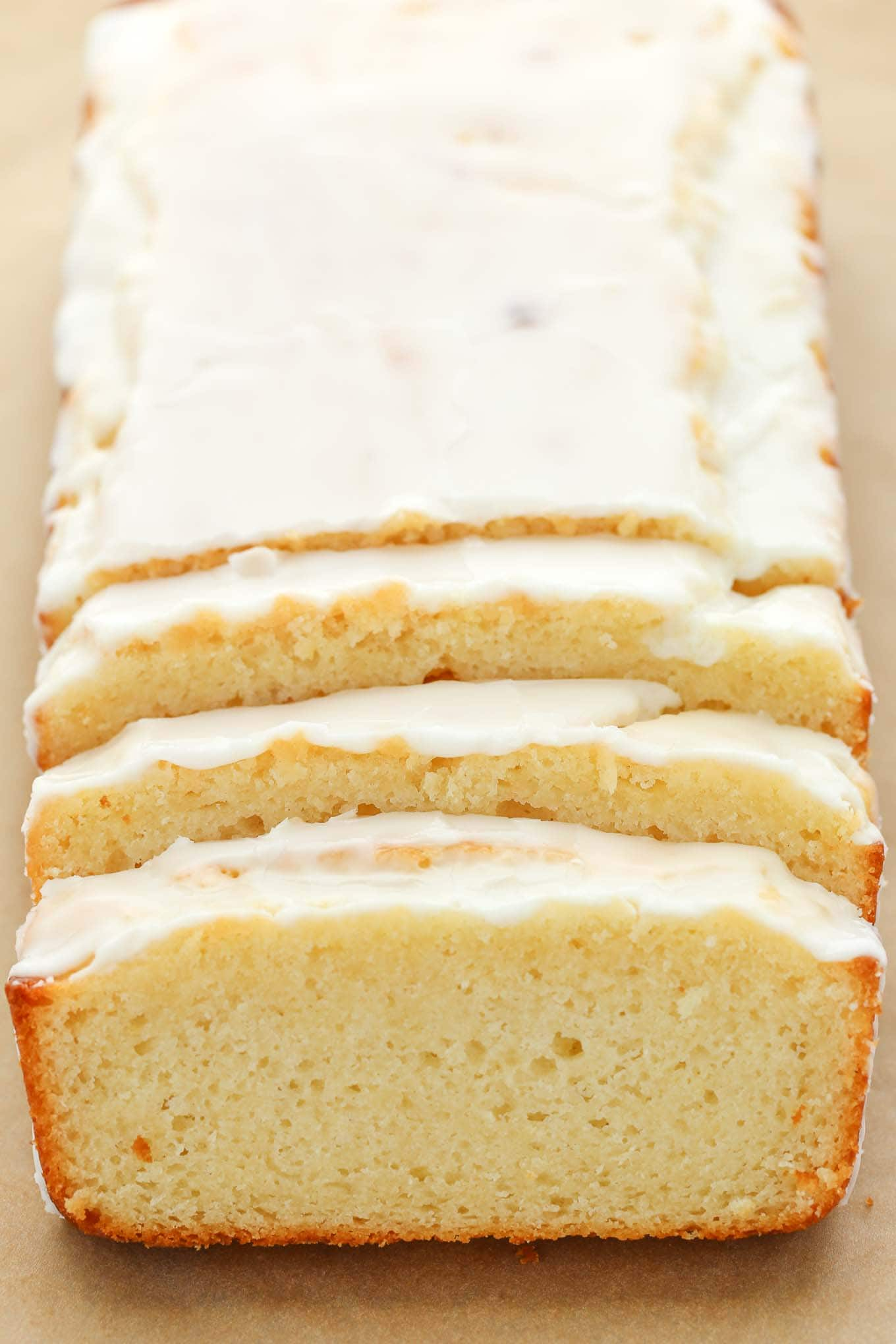 An easy lemon bread recipe topped with a sweet lemon glaze. This Glazed Lemon Bread is perfect for breakfast, brunch, or dessert!