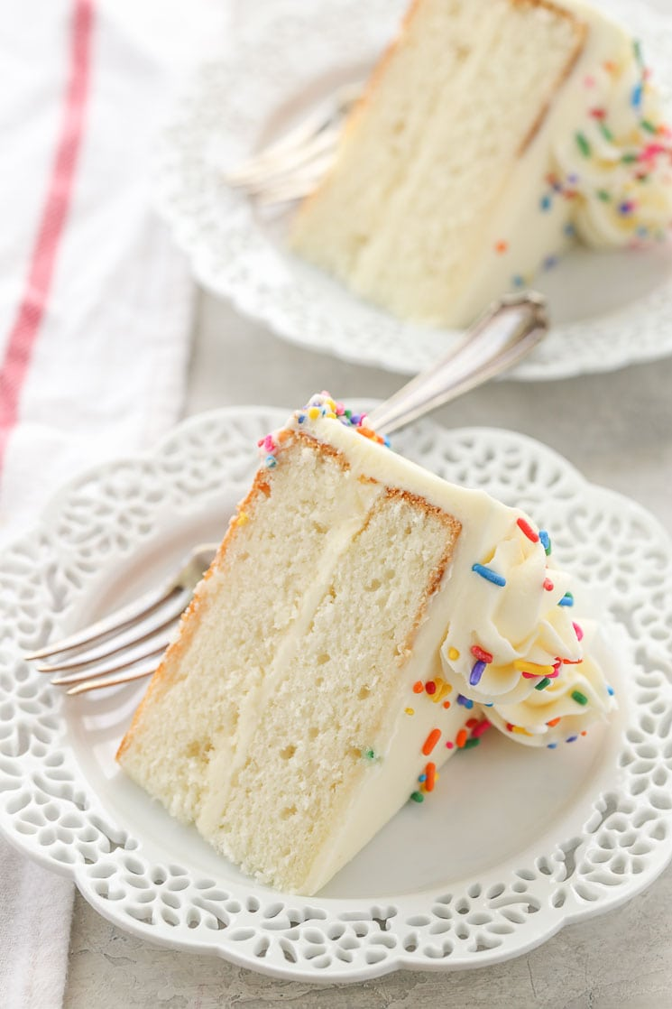 The Best White Cake Recipe From Scratch Live Well Bake Often