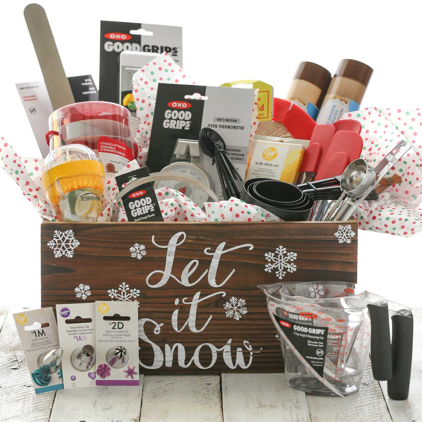 Holiday Giveaway Basket