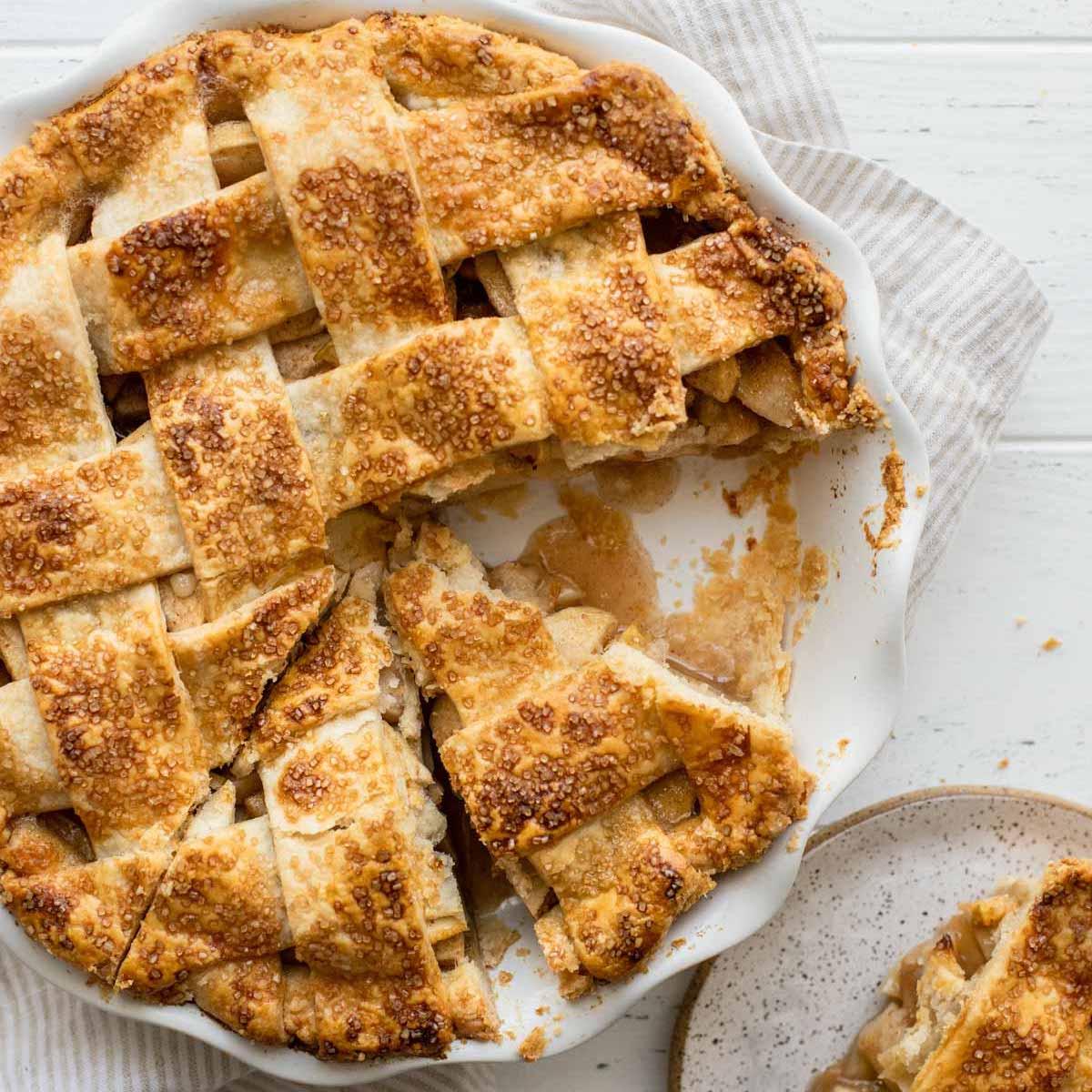 Apple Pie Recipe The BEST   Live Well Bake Often