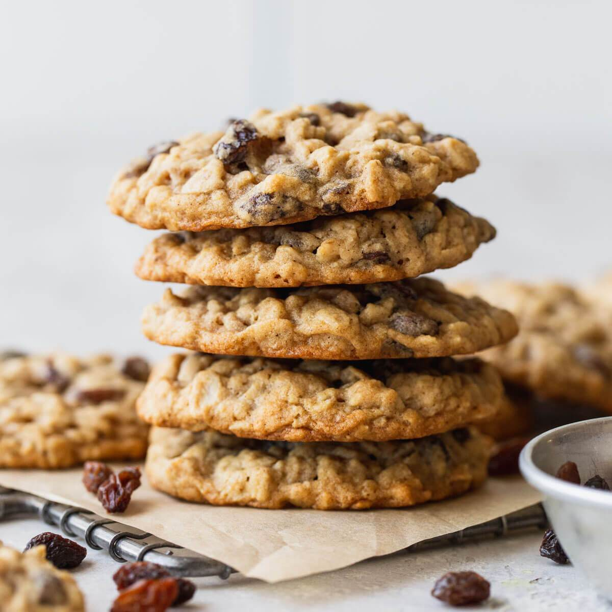 Oatmeal Raisin Cookies Soft Chewy Live Well Bake Often