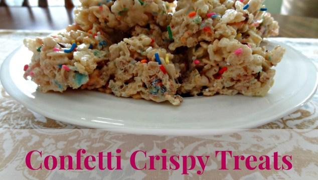 Confetti Crispy Treats | Recipe