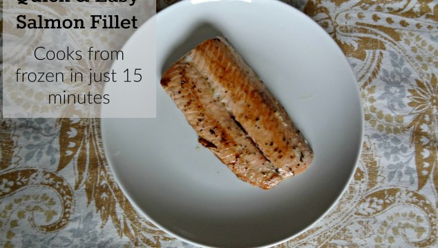 15 Minute Grilled Salmon Fillet