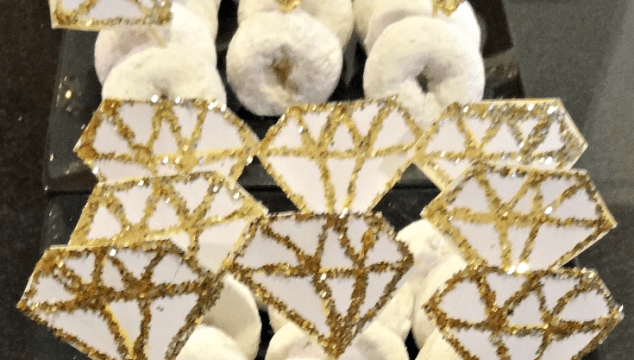 DIY Diamond Ring Donuts