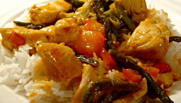 Sweet & Sour Chicken Stir Fry | Easy Weeknight Meal with Seeds of Change