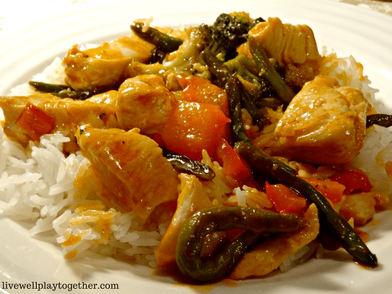 Easy Sweet & Sour Stir Fry Chicken - Perfect Weeknight Meal #mealplanning #easymeals #cooking
