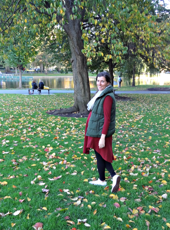 2 Ways to Wear an Asymetric Shift Dress for Fall & Winter