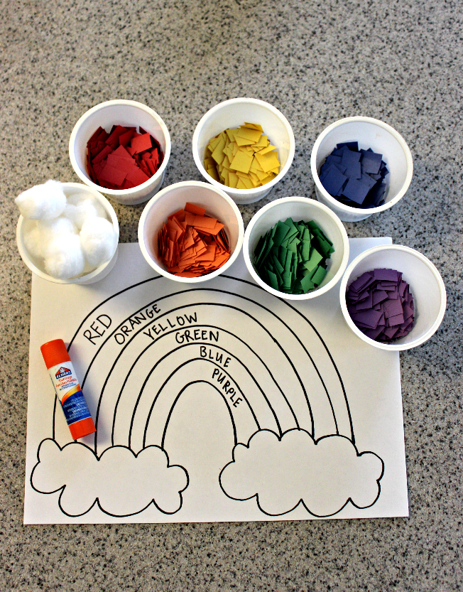 Crafts For Toddlers Rainbow