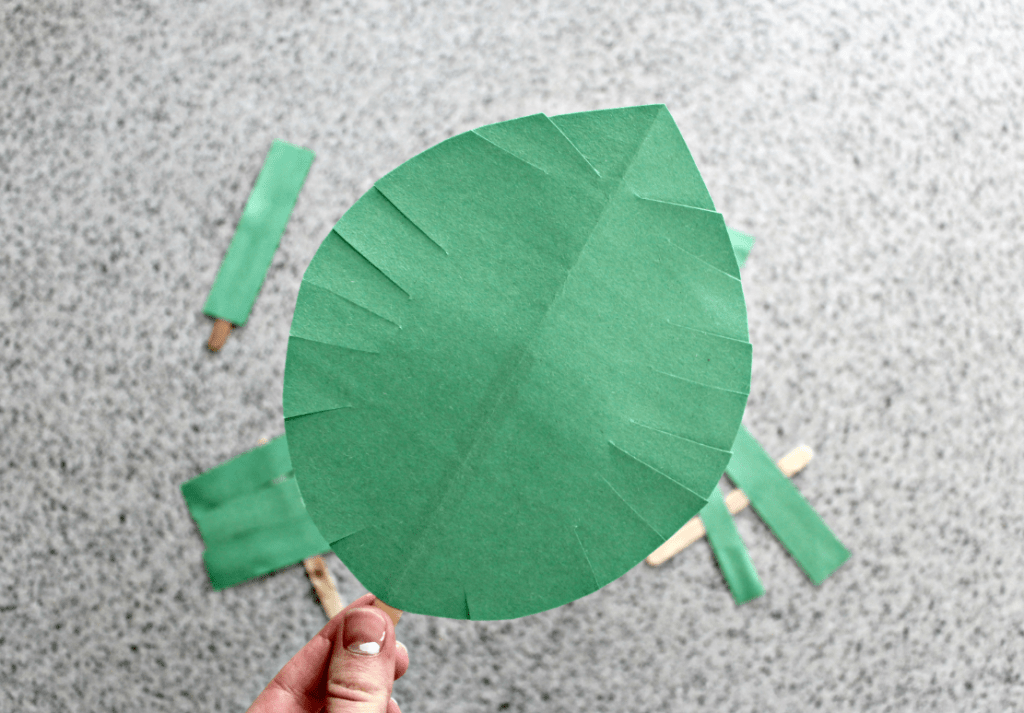 Palm Sunday Crafts Palm Leaf Craft Two Ways Live Well Play Together