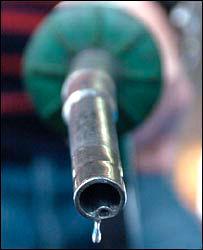 Petrol fumes