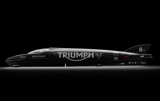 Triumph land speed record attempt