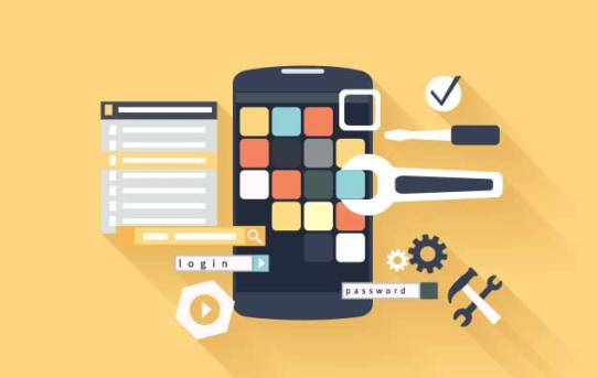 Develop mobile apps