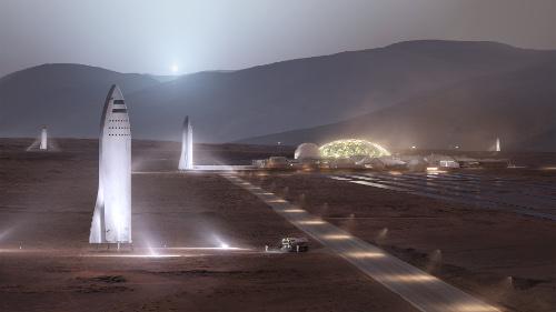 SpaceX Mars BFS