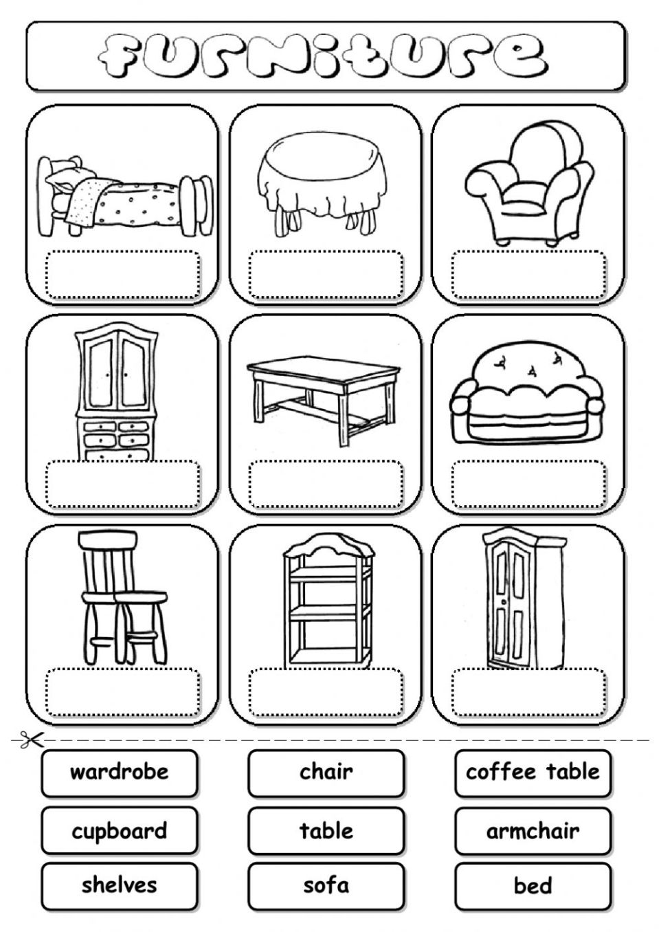 Image Result For Worksheet On Types Of Clothes
