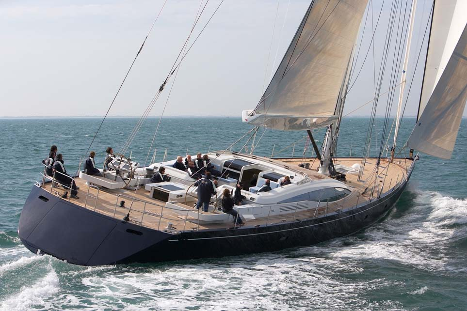 Sailing Yacht HAMILTON Superyachts News Luxury Yachts Charter Amp Yachts For Sale