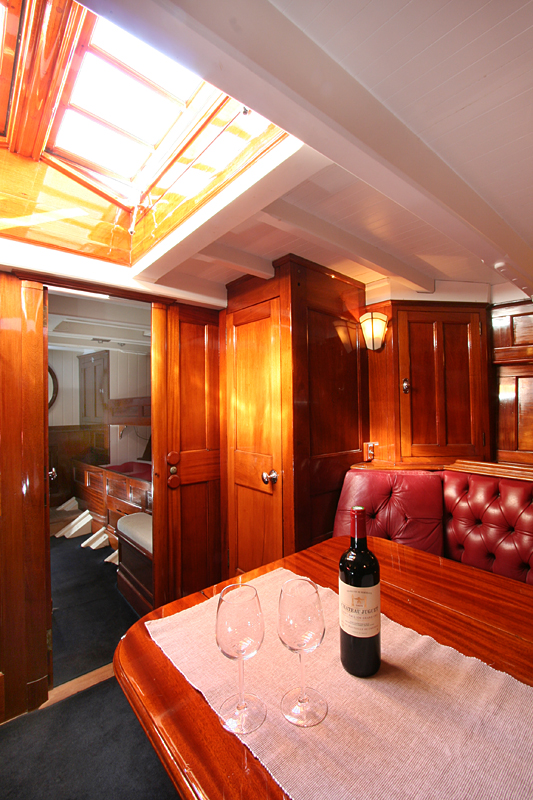Classic Sailing Yacht Charter SY Halloween Superyachts
