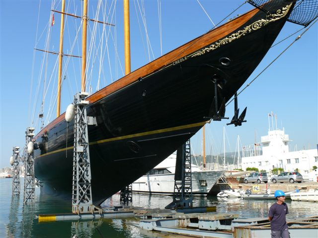Re Launching A Classic Schooner Superyachts News Luxury Yachts Charter Amp Yachts For Sale