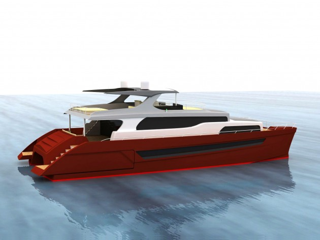 View large version of image: KHARIMA 81' is the new 24m catamaran