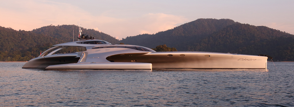 McConaghy Trimaran Yacht ADASTRA Finalist For World Superyacht Award 2013 Superyachts News