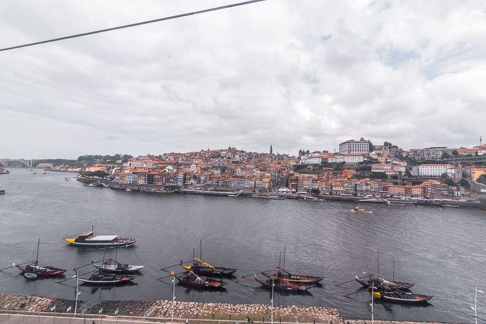 cable cart porto views
